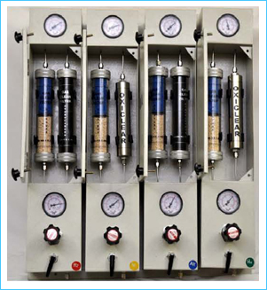 Gas Purification Panel For 04 Gases Nitrogen, Hydrogen, Helium & Air